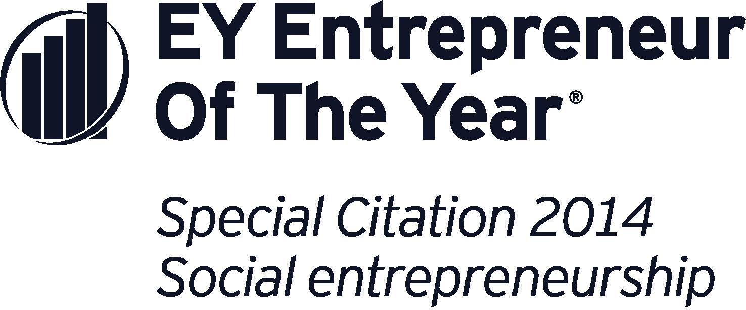 EY Entrepreneur of the Year award logo for 2014